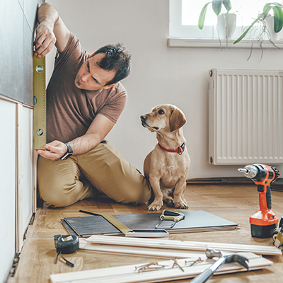 Home improvements can increase the value of your real estate, whether you're refinancing, selling, or fixing up.